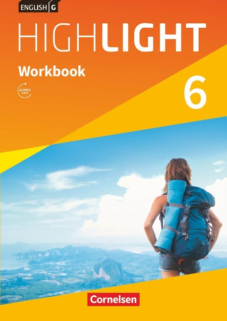 English G Highlight Band 6: 10. Schuljahr - Hauptschule - Workbook mit Audios online