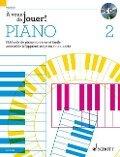 À vous de jouer! PIANO +CD - Hans-Günter Heumann