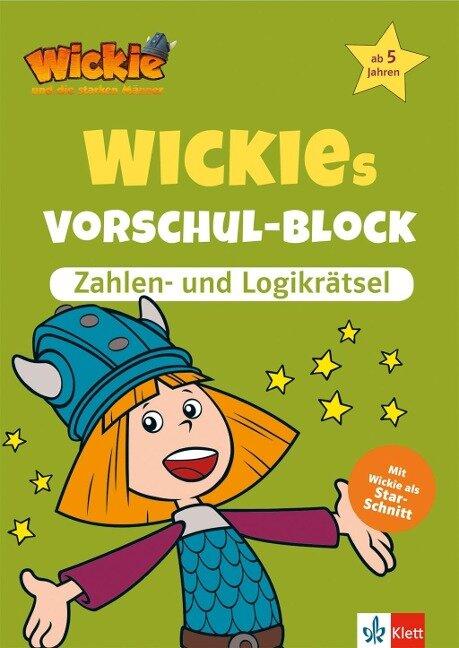 Wickies Vorschul-Block Zahlen- und Logikrätsel -