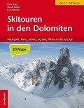 Skitouren in den Dolomiten, Band 1 - Omar Cauz, Simon Kehrer, Kurt Stauder