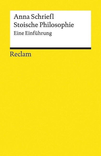 Stoische Philosophie - Anna Schriefl