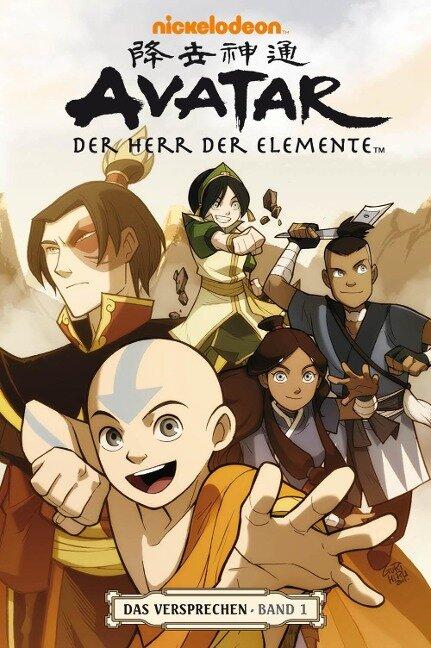 Avatar: Der Herr der Elemente 01. Das Versprechen 1 - Gene Luen Yang