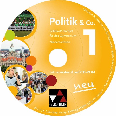 Politik & Co. Niedersachsen LM 1 - neu - Erik Müller, Kersten Ringe, Hartwig Riedel