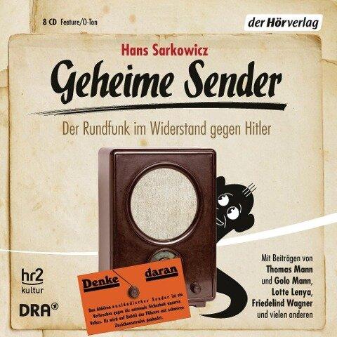 Geheime Sender - Hans Sarkowicz