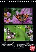 Schmetterlinge unserer Region (Tischkalender 2019 DIN A5 hoch) - Diana Schröder