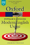 Fowler's Concise Dictionary of Modern English Usage -