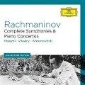 Rachmaninoff: Symphonies/Piano Concertos - Lorin/Bp Maazel