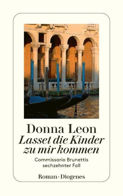 Lasset die Kinder zu mir kommen - Donna Leon