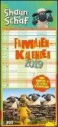 Shaun das Schaf Familienkalender 2019 -