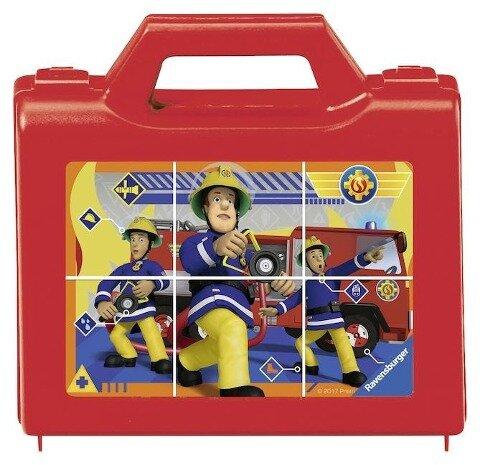 Feuerwehrmann Sam: Sam, der tapfere Feuerwehrmann. Würfelpuzzle 6 Teile -