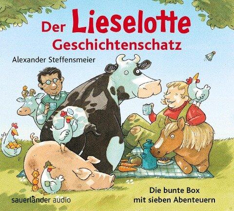 Der Lieselotte Geschichtenschatz - Alexander Steffensmeier, Dirk Kauffels