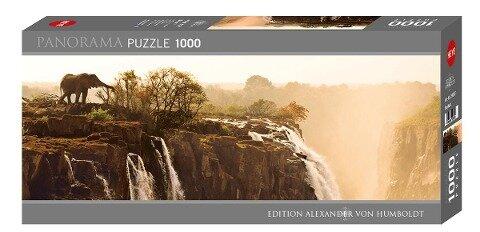 Panorama Puzzle Elephant 1000 Teile -