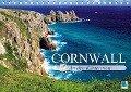 An den Küsten von Cornwall (Tischkalender 2017 DIN A5 quer) - CALVENDO