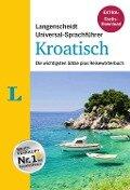 """Langenscheidt Universal-Sprachführer Kroatisch - Buch inklusive E-Book zum Thema """"Essen & Trinken"""" -"""