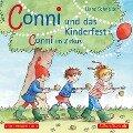 Conni und das Kinderfest / Conni im Zirkus - Liane Schneider
