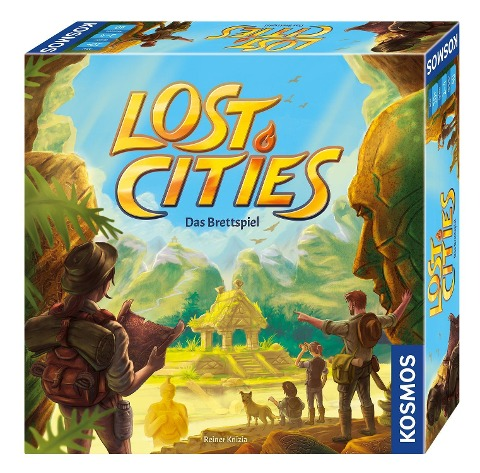 Lost Cities - Das Brettspiel -