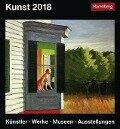 Kunst. Kalender 2018 - Hajo Düchting, Gero Seelig, Martina Padberg