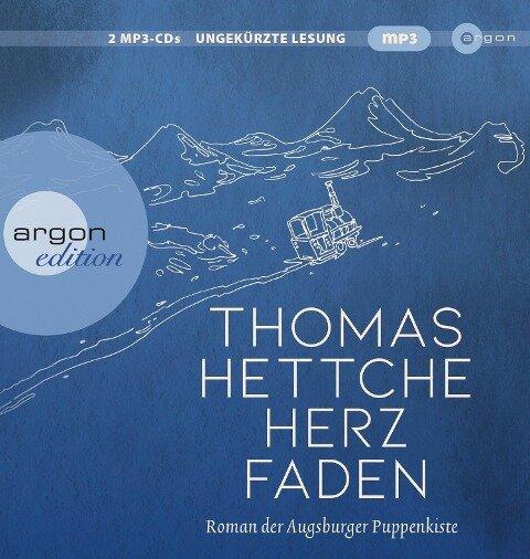 Herzfaden. Roman der Augsburger Puppenkiste - Thomas Hettche