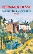 Insel-Kalender für das Jahr 2019 - Hermann Hesse