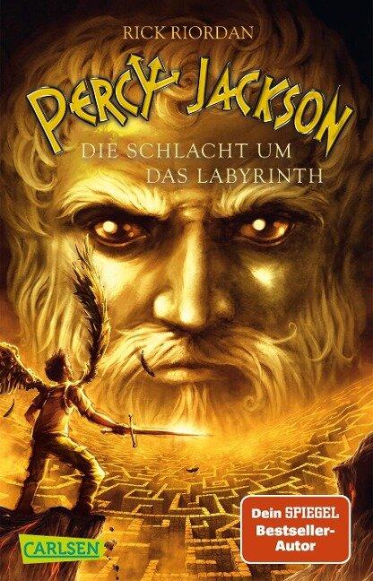 Percy Jackson 04. Die Schlacht um das Labyrinth - Rick Riordan