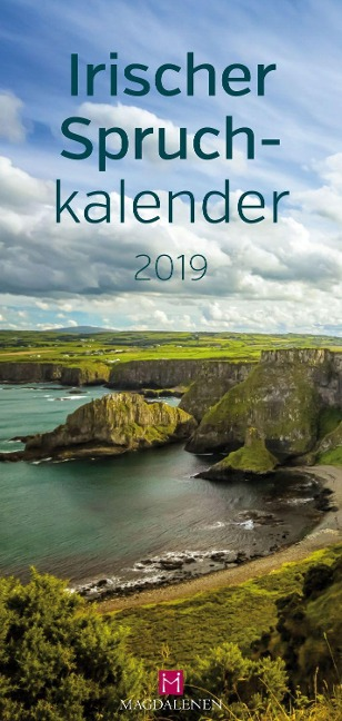 Irischer Spruchkalender 2019 Postkartenkalender -