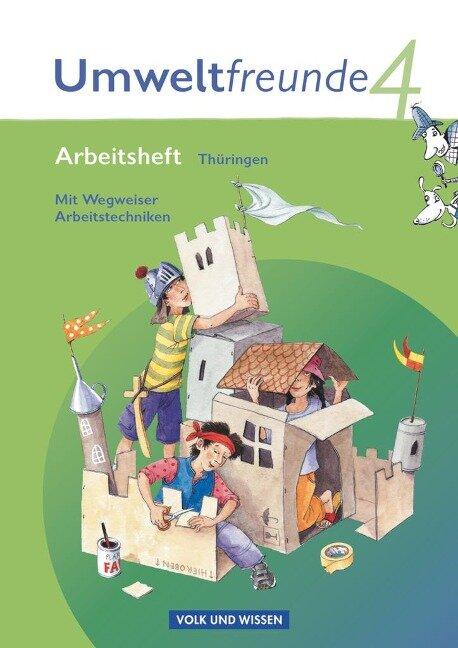 Umweltfreunde 4. Schuljahr. Arbeitsheft Thüringen - Gerhild Schenk, Silke Nitschel, Rolf Leimbach, Christine Köller, Inge Koch