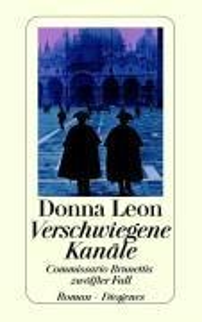 Verschwiegene Kanäle - Donna Leon