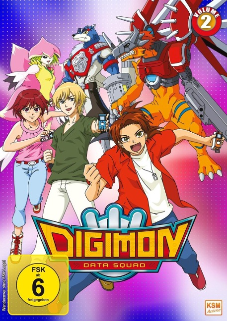 Digimon Data Squad - Volume 2: Episode 17-32 -