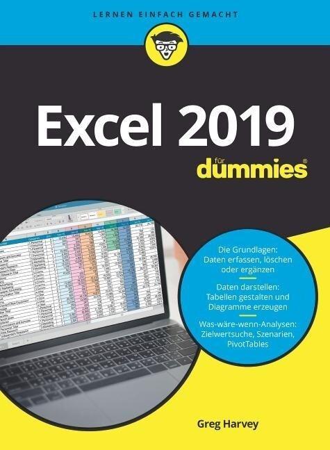 Excel 2019 für Dummies - Greg Harvey