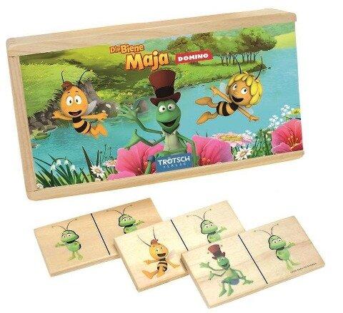 """Holz-Domino """"Die Biene Maja"""" -"""