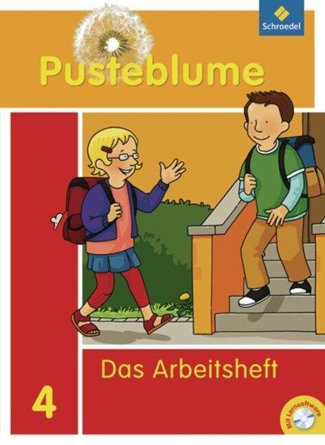 Pusteblume 4. Das Sprachbuch. Arbeitsheft mit CD-ROM. Bremen, Hamburg, Niedersachsen, Nordrhein-Westfalen, Schleswig-Holstein -