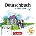 Deutschbuch 7. Schuljahr Gymnasium. Übungs-CD-ROM zum Arbeitsheft. Östliche Bundesländer und Berlin -