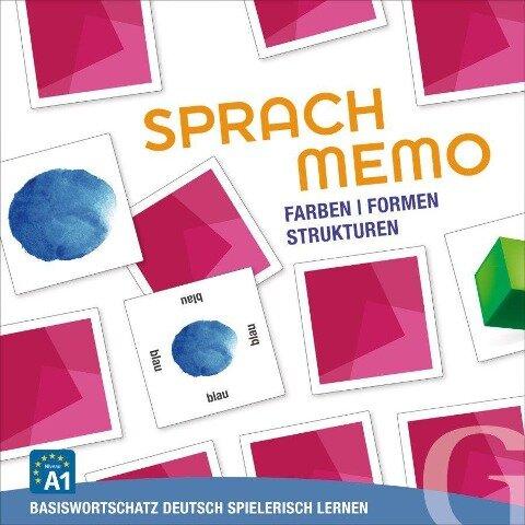 SPRACHMEMO Farben / Formen / Strukturen -