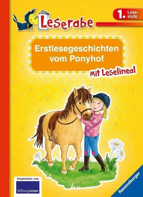 Erstlesegeschichten vom Ponyhof - Katja Reider, Cee Neudert, Doris Arend