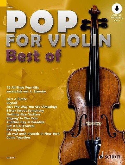 Pop for Violin - Best of -