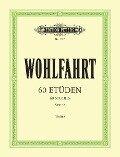 60 Etüden für Violine solo op. 45 - Franz Wohlfahrt