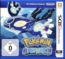 3DS Pokémon Alpha Sapphire. Für Nintendo 3DS -