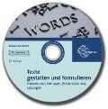 Begleit-CD mit Lösungen zu 81212 - Texte gestalten und formulieren - Sophia Guter, Karin Maisenbacher