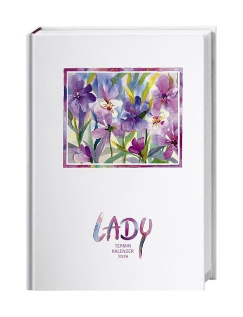 Lady Terminkalender A6 2019 -
