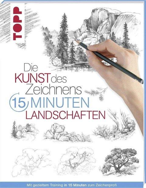 Die Kunst des Zeichnens 15 Minuten - Landschaften -