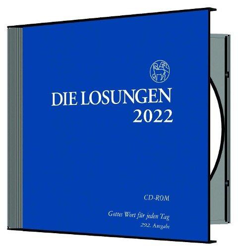 Die Losungen für Deutschland 2022 / Losungs-CD -