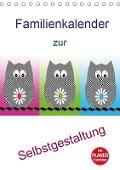 Familienkalender zur Selbstgestaltung (Tischkalender 2019 DIN A5 hoch) - K. A. Youlia