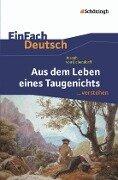 Aus dem Leben eines Taugenichts. EinFach Deutsch ... verstehen - Joseph von Eichendorff, Norbert Berger