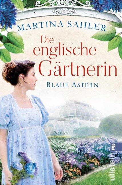 Die englische Gärtnerin - Blaue Astern - Martina Sahler