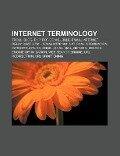 Internet terminology -