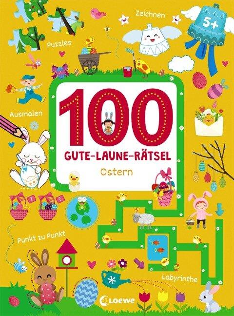 100 Gute-Laune-Rätsel - Ostern -