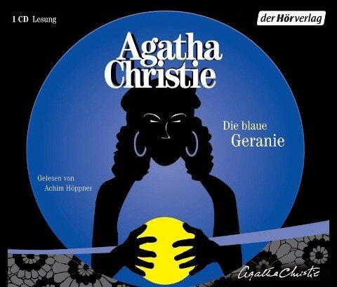 Die blaue Geranie - Agatha Christie
