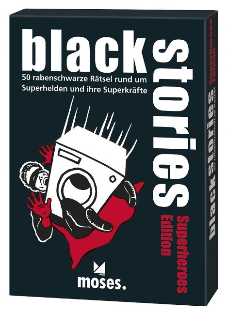 black stories - Superheroes Edition - Corinna Harder, Jens Schumacher