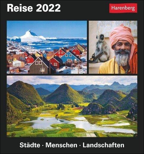 Reise Kalender 2022 - Martina Schnober-Sen, Bernhard Pollmann