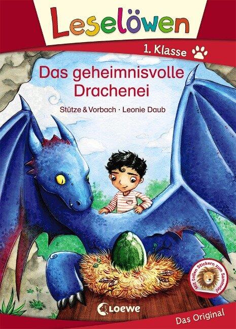 Leselöwen 1. Klasse - Das geheimnisvolle Drachenei - Stütze & Vorbach